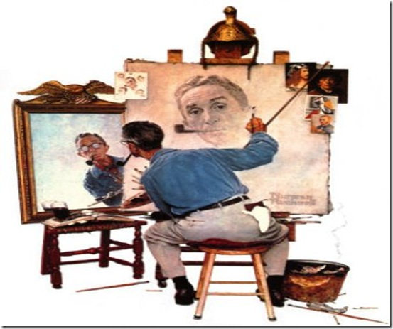 009_575-010norman-rockwell-triple-self-portrait-posters