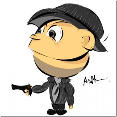 1167607_Mafia--Gangster-Cartoon-Made-in-Photoshop-with-Vector-pen-tool_620