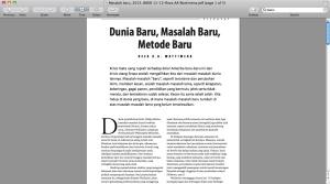 majalah basis