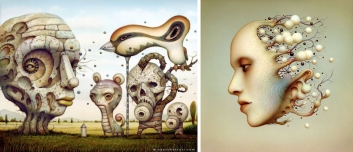 naoto-hattori_surrealistic-painting_surrealism_contemporary-art_beautiful-bizarre_081