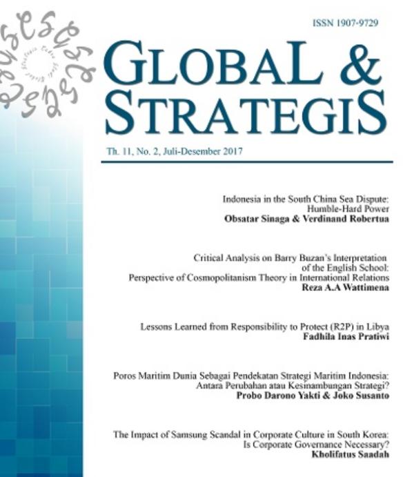 Cover Jurnal Global Strategis