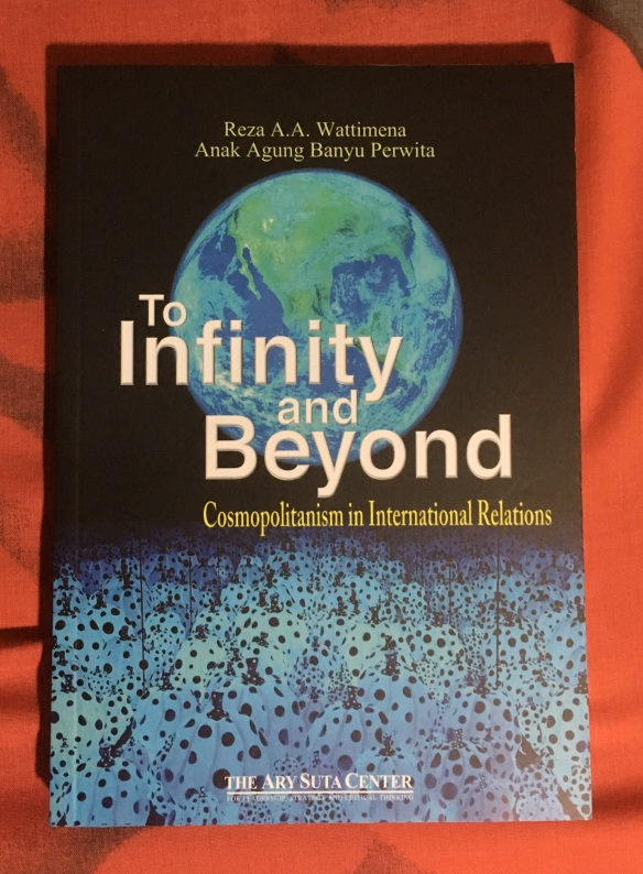 Infinity and Beyond, Cover depan