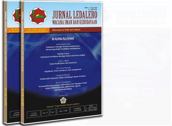 Jurnal Ledalero, Radikalisme, Cover