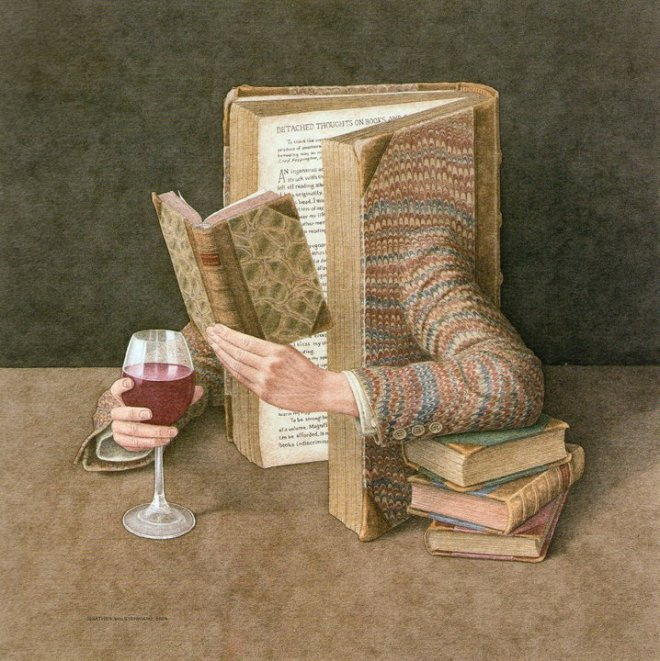 Surreal Illustrated books in anthropomorphic style | Graphic Art News